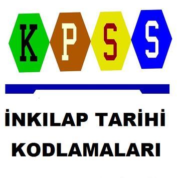KPSS İnkılap Tarihi Kodlamalar poster