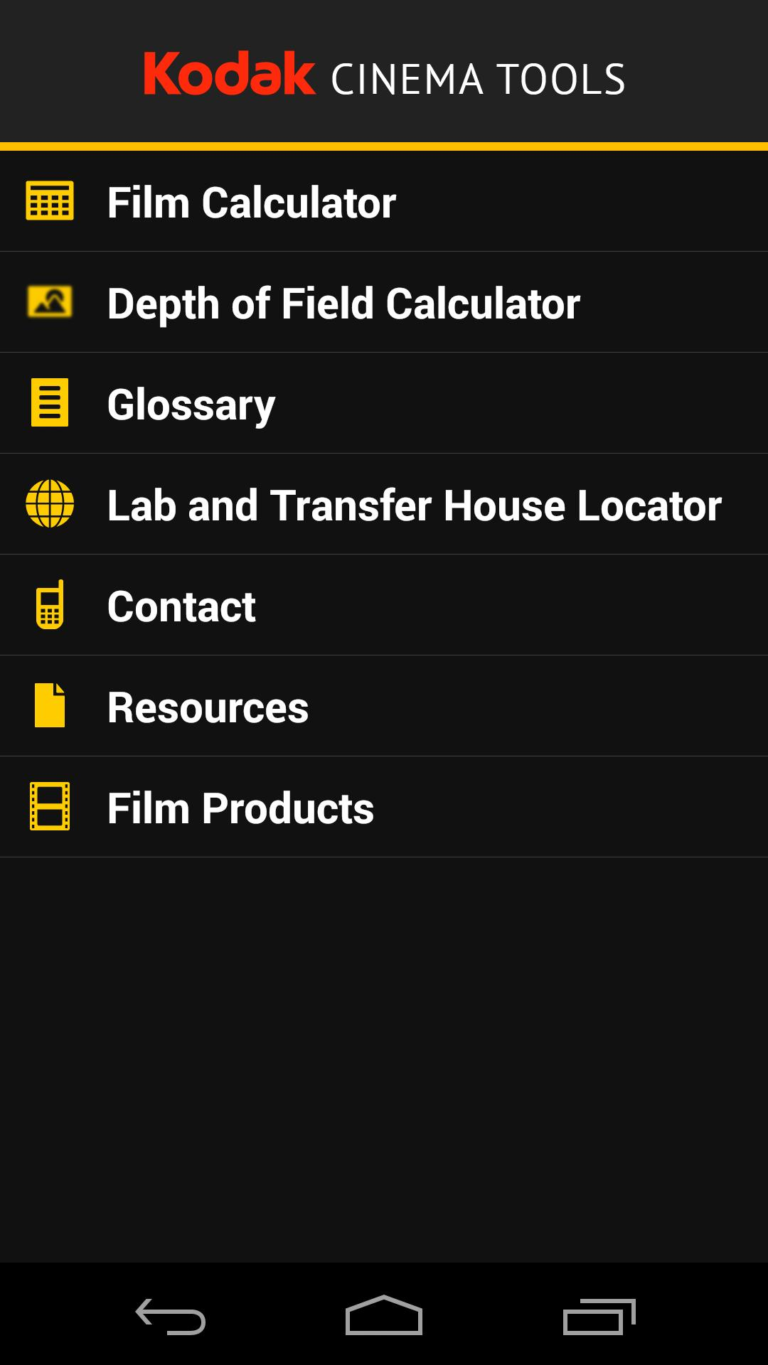 Kodak Cinema Tools for Android - APK Download