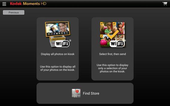 KODAK MOMENTS HD TABLET APP apk screenshot
