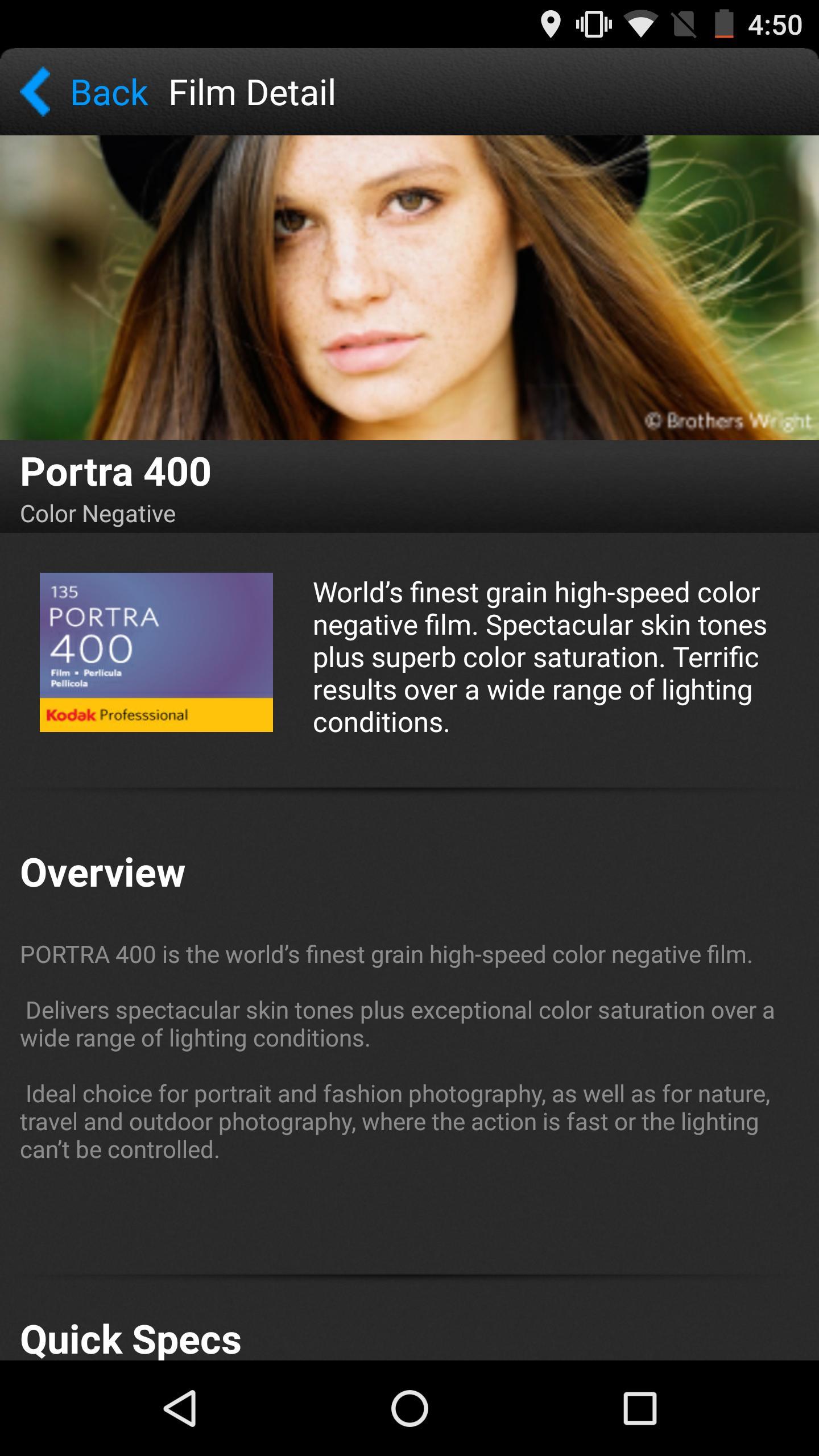 Kodak Professional Film App For Android Apk Download
