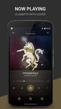 BlackPlayer Music Player ポスター