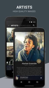 BlackPlayer Music Player apk screenshot