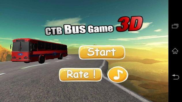 CTB Bus Game 3D poster