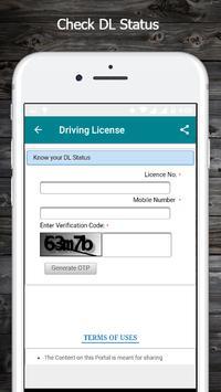Driving License screenshot 1