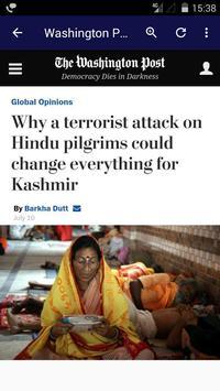 Newspaper Editorial and Opinion English Newspaper screenshot 4
