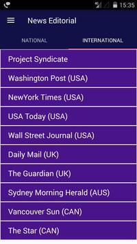 Newspaper Editorial and Opinion English Newspaper screenshot 1