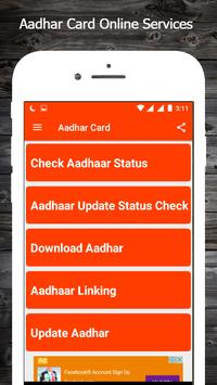 Aadhar Card Online Services poster