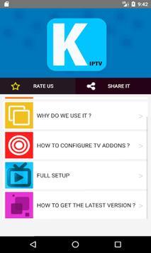 GUIDE FOR KODI APP IPTV 2017 screenshot 3