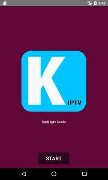 GUIDE FOR KODI APP IPTV 2017 screenshot 1