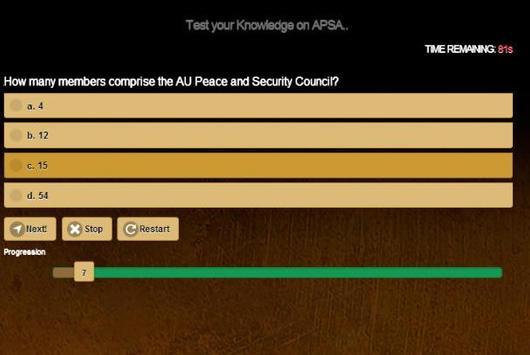 African Union Peace & Security apk screenshot