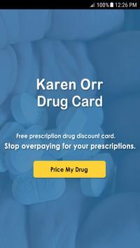 Orr Drug Card poster