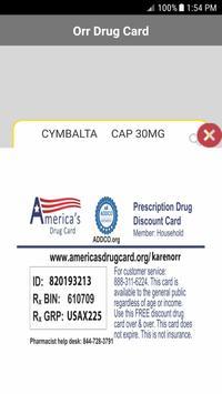 Orr Drug Card screenshot 2