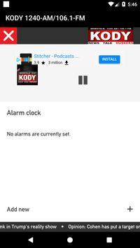 KODY 1240-AM/106.1-FM screenshot 2