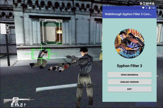 Walkthrough Syphon Filter 3 Complete poster