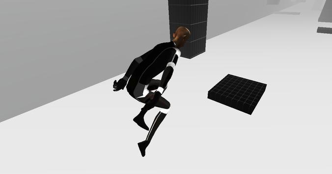 Ragdoll Line Runner 3D Extreme screenshot 1