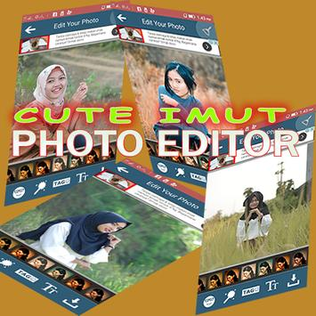 Cute Imute Photo Editor - Smart Version poster