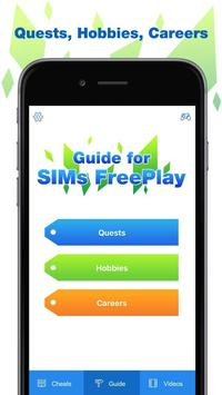Cheats for The Sims Freeplay apk screenshot