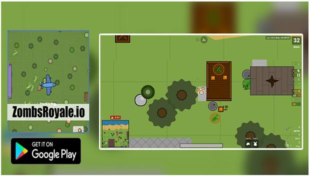 ZombsRoyale.io Game strategy screenshot 1