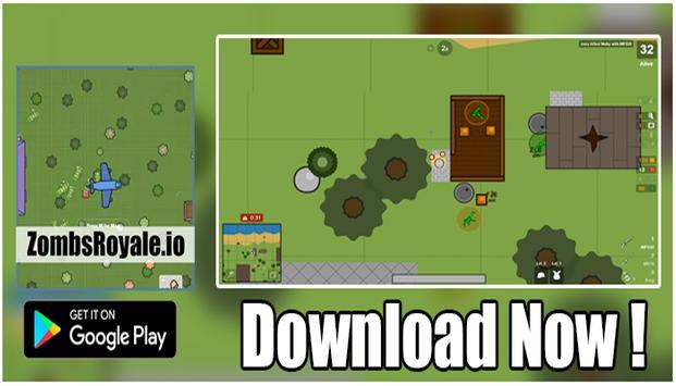 ZombsRoyale.io Game strategy screenshot 2