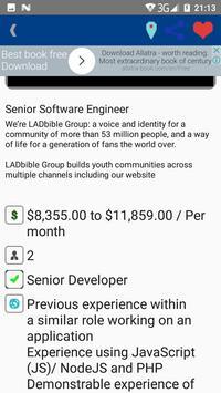 Job Finder - By Koka Inc apk screenshot