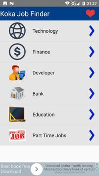 Job Finder - By Koka Inc poster