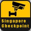 Singapore Checkpoint Traffic Zeichen