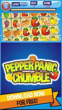 Pepper Hot Crumble apk screenshot