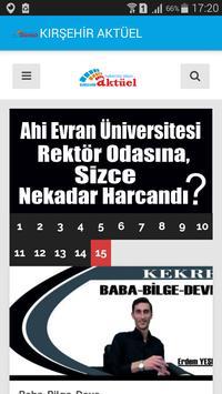 KIRŞEHİR AKTÜEL poster
