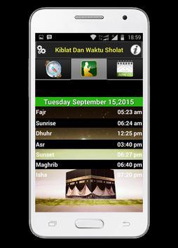 Arah Kiblat Dan Waktu Sholat apk screenshot