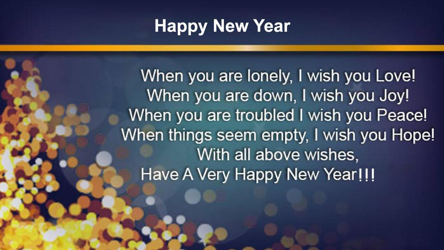 Happy New Year Greetings 2019 Hindi English Wish For Android Apk