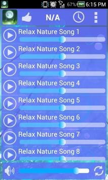 Nature Relaxing Sounds poster