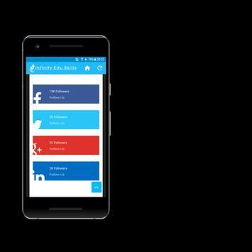 Infinity Edu Skills Mobile App screenshot 4