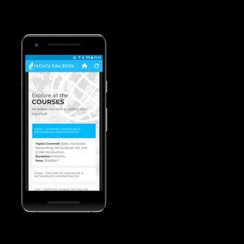 Infinity Edu Skills Mobile App screenshot 5