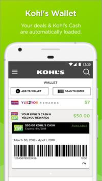 Kohl's: Scan, Shop, Pay & Save poster