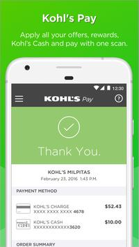 Kohl's: Scan, Shop, Pay & Save apk screenshot