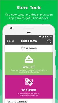 Kohl's: Scan, Shop, Pay & Save apk screenshot