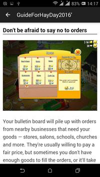 Guide For Hay Day screenshot 1