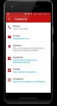Bahrain Pharmacists Society screenshot 1