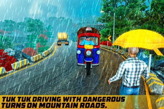 Taxi Games: Offroad Tuk Tuk Rickshaw Driving poster