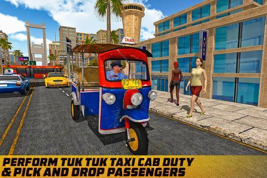 Taxi Games: Offroad Tuk Tuk Rickshaw Driving screenshot 2