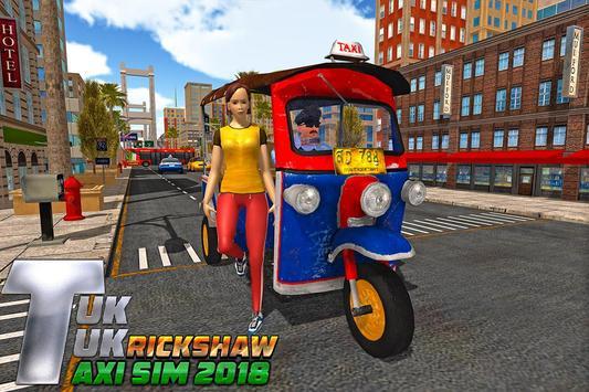 Taxi Games: Offroad Tuk Tuk Rickshaw Driving screenshot 7