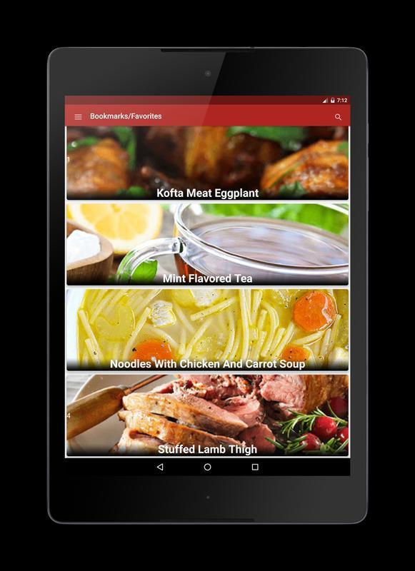 Arabic food recipes in arabic descarga apk gratis comer y beber arabic food recipes in arabic captura de pantalla de la apk forumfinder Image collections