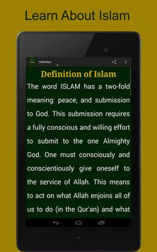 Introduction to Islam apk screenshot