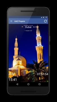 UAE (Emirates) Prayer Times screenshot 16