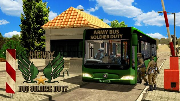 SWAT Army Bus War Duty poster