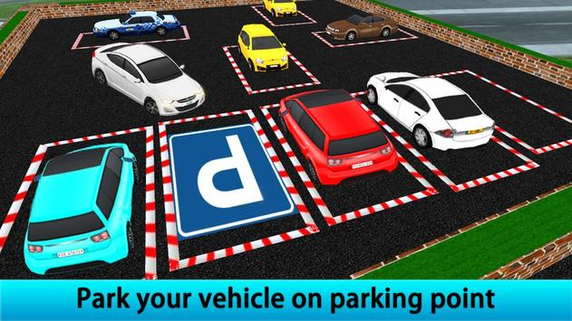 Drive Multiple Car Parking Mania poster