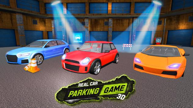 Real Car Parking Game 3D poster