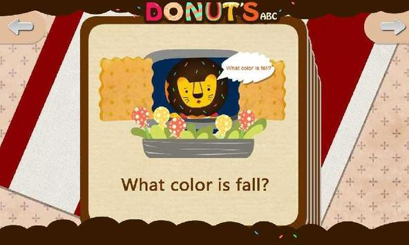 Donut's ABC:Colors apk screenshot