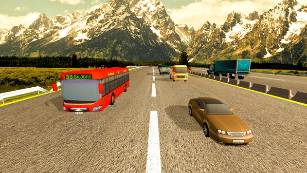 Coach Bus Simulator Driving 2: Bus Games 2020 capture d'écran 3