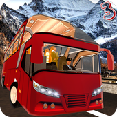 Coach Bus Simulator Driving 3 icône